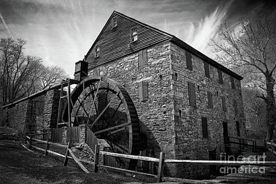 Photograph - Rocky Run Grist Mill by Karen Adams