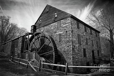 Photograph - Rocky Run Grist Mill by Karen Adams