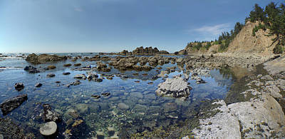 Photograph - Rocky Sea Panorama by Adria Trail