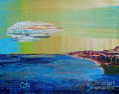 Painting - Rocky Shore by Corinne Carroll