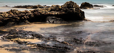 Photograph - Rocky Shore In Color by Georgia Fowler