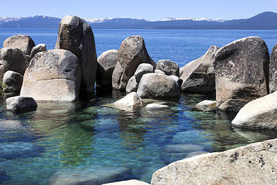 Lakeview Photograph - Rocky Shore by Janet Fikar