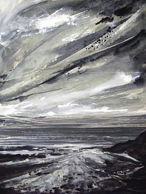 Painting - Rocky Shore by Keran Sunaski Gilmore