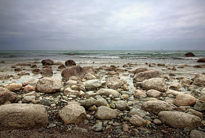 Photograph - Rocky Shore by Stefan Nielsen