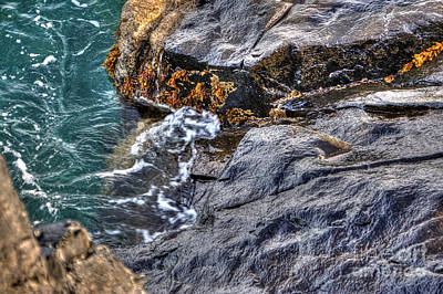 Photograph - Rocky Shores by LR Photography