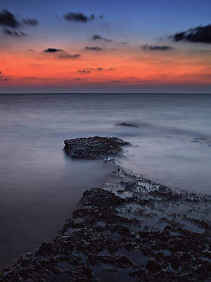 Agios Photograph - Rocky Shores Of Agios Georgios by Amanda Finan