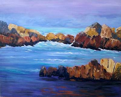 Painting - Rocky Shores by Rosie Sherman