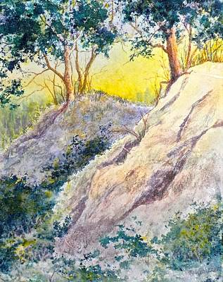 Painting - Rocky Slope by Carolyn Rosenberger