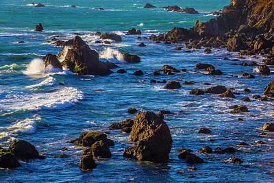 Sonoma Coast Photograph - Rocky Sonoma Coast by Garry Gay