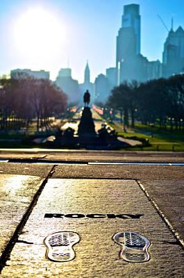 Rocky Balboa Photograph - Rocky Steps by Richard Dorr