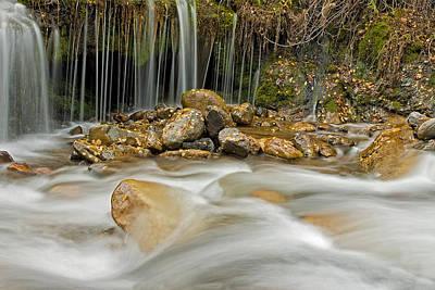 Photograph - Rocky Stream by Scott Read