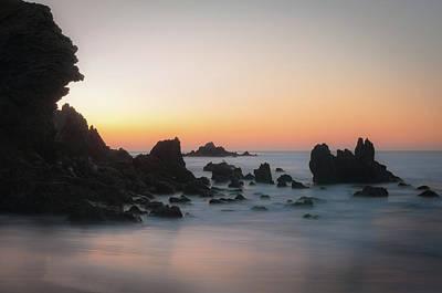 Del Mar Wall Art - Photograph - Rocky Sunrise by Ralph Vazquez