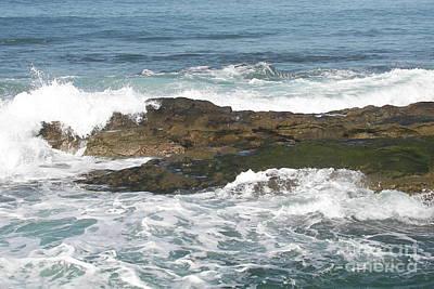 Photograph - Rocky Surf by Carol  Bradley