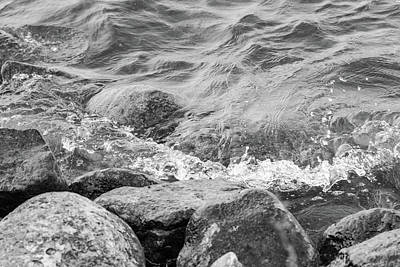Photograph - Rocky Tide by SR Green