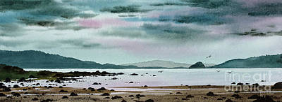 Painting - Rocky Tidelands Shore by James Williamson