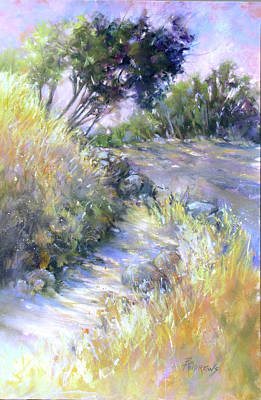 Painting - Rocky Trail by Rae Andrews