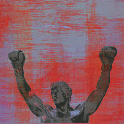 Champion Mixed Media - Rocky V2 by Brandi Fitzgerald