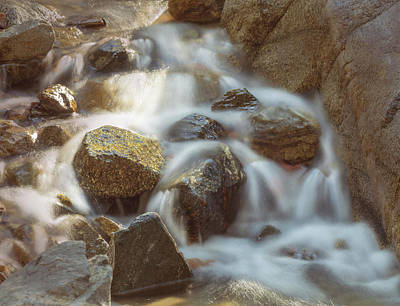 Photograph - Rocky Water by Ed Clark