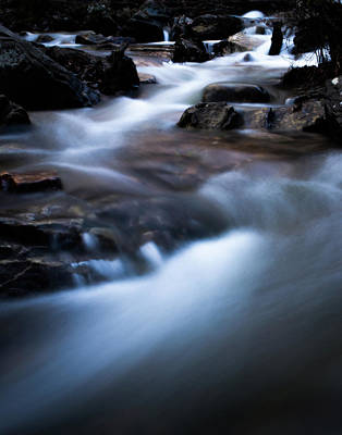 Photograph - Rocky Winter Stream by Parker Cunningham