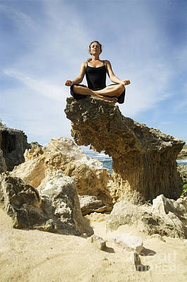 Mahaulepu Beach Photograph - Rocky Yoga by Kicka Witte - Printscapes