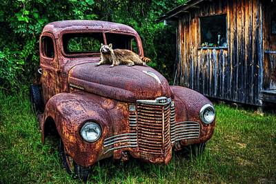 Photograph - Rocky's Rust Bucket by Ken Smith