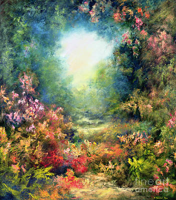 World Peace Painting - Rococo Delight by Hannibal Mane