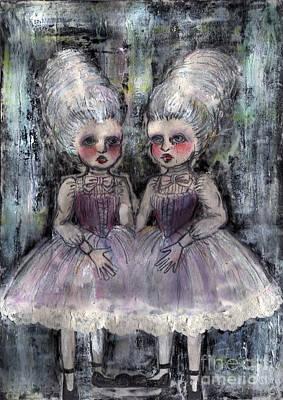Rococo Twins Original by Akiko Okabe