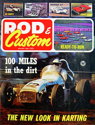 Photograph - Rod And Custom 1966 by David Lee Thompson