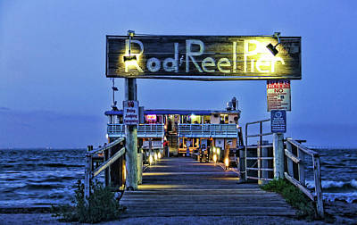 Photograph - Rod And Reel Pier by HH Photography of Florida