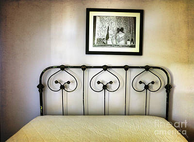 Photograph - Rod Iron Bed by Craig J Satterlee