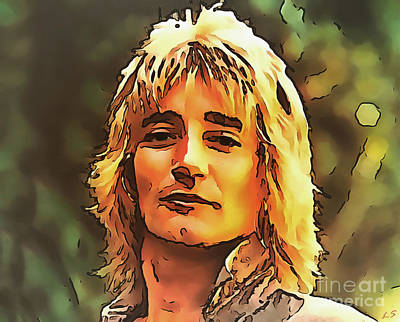 Photograph - Rod Stewart Collection 1 by Sergey Lukashin