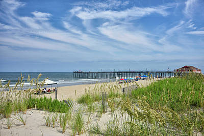 Photograph - Rodanthe Fishing Pier - Outer Banks by Brendan Reals