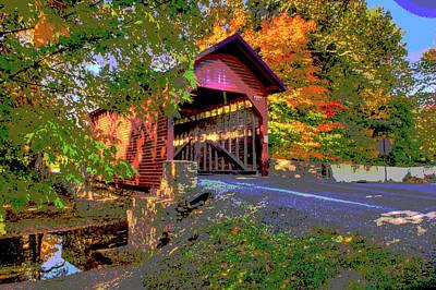Roddy Road Covered Bridge Art Print