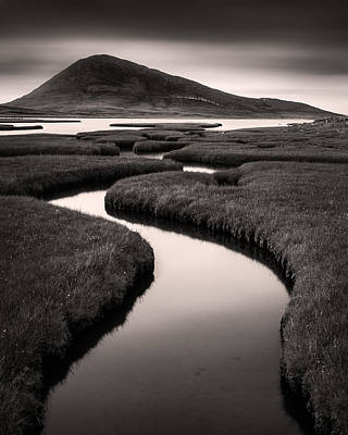 Photograph - Northton Saltmarsh by Dave Bowman