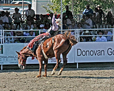 Photograph - Rodeo 1 by Tom Griffithe