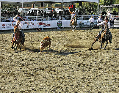 Photograph - Rodeo 10 by Tom Griffithe