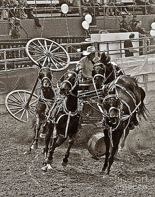 Photograph - Rodeo 11 by Tom Griffithe