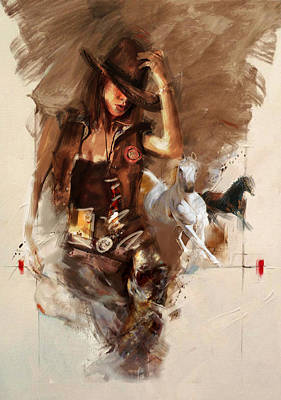 Painting - Rodeo 22 by Maryam Mughal