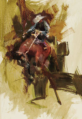 Painting - Rodeo 23 by Maryam Mughal