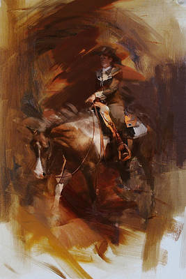 Painting - Rodeo 24 by Maryam Mughal