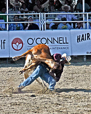 Photograph - Rodeo 3 by Tom Griffithe