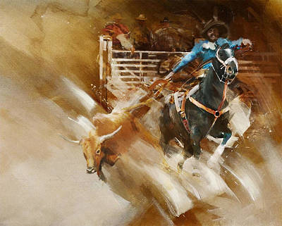 Painting - Rodeo 35 by Maryam Mughal