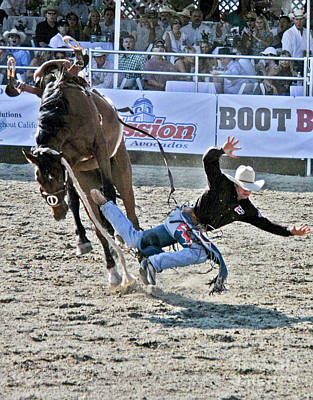 Photograph - Rodeo 4 by Tom Griffithe