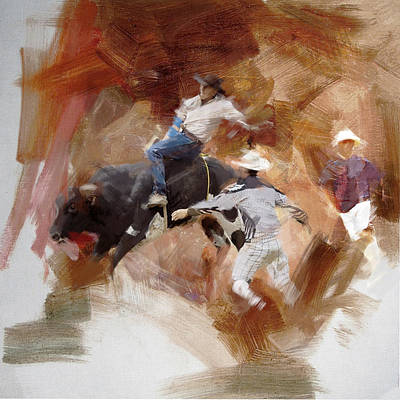 Painting - Rodeo 40 by Maryam Mughal