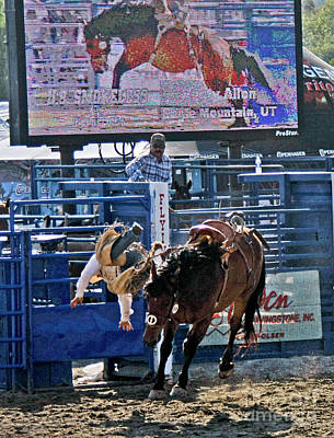 Photograph - Rodeo 5 by Tom Griffithe