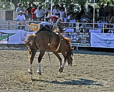 Photograph - Rodeo 9 by Tom Griffithe