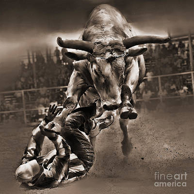 Rodeo Painting - Rodeo A123 by Gull G