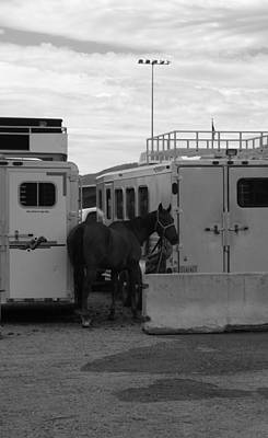 Outsider Art Photograph - Rodeo Backlot by Kirk Griffith
