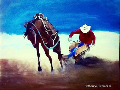 Painting - Rodeo Ballet by Catherine Swerediuk