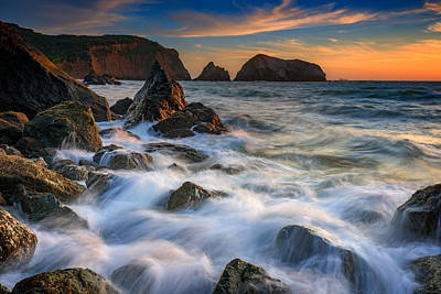 Sausalito Photograph - Rodeo Beach by Rick Berk